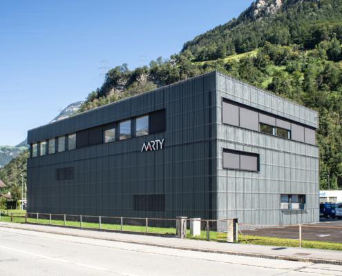 Neubau Marty AG
