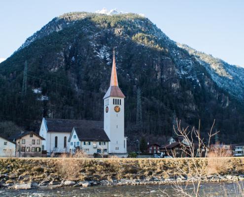Sanierung Pfarrkirche Erstfeld
