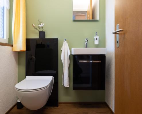 Umbau von Separat WC